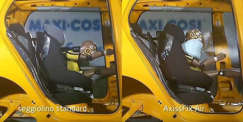 crash test axissfix air