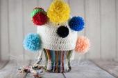 Carnevale: schema crochet per cappellino