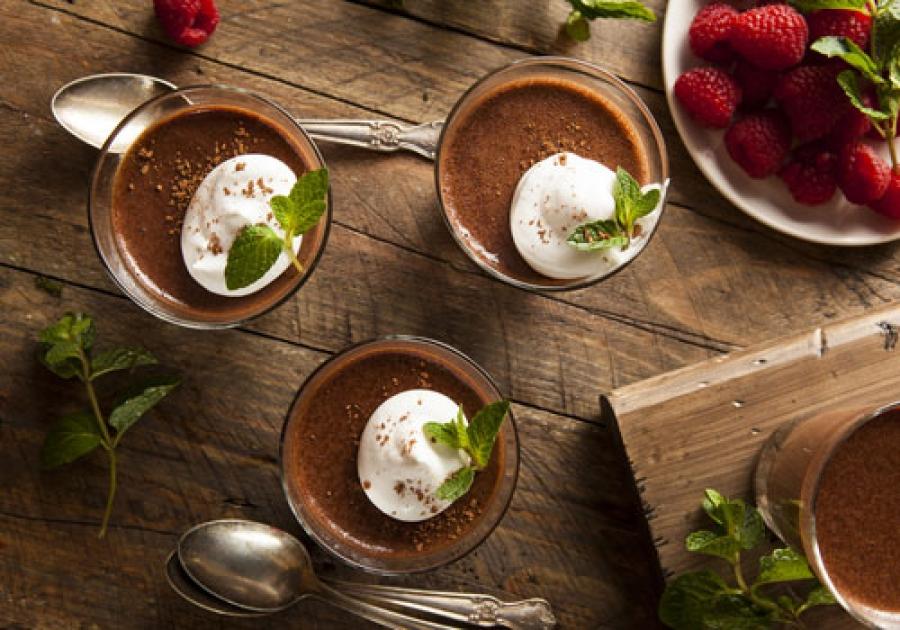 Dessert: tris di cioccolati al vetro, ricetta di Davide Comaschi