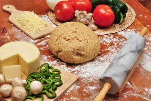 Ingredienti per pizza fatta in casa