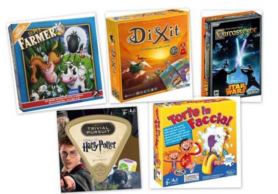 I nostri giochi da tavolo preferiti