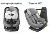 Un seggiolino per bambini con l'airbag!