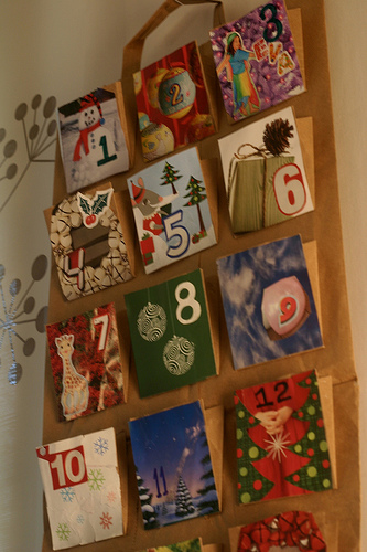 recycled-advent-diy